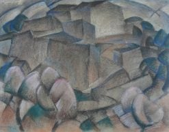 Landscape in Mallorca | Leo Gestel | Oil Painting
