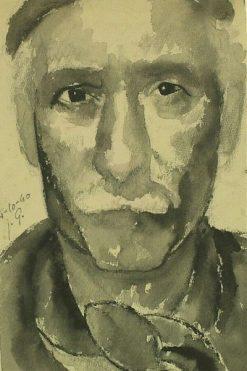 Self-Portrait | Julio Gonzalez | Oil Painting
