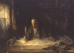 Jewish Scribe | Jozef Israels | Oil Painting
