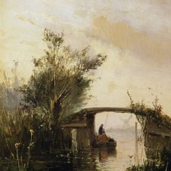 Bridge | Johan Barthold Jongkind | Oil Painting