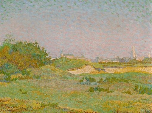 Landscape with Dunes   Johan Aarts   Oil Painting