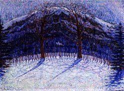 Snowy Landscape | Jo Koster | Oil Painting