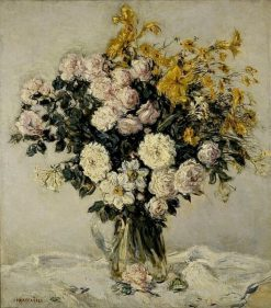 Wild Flowers | Jean Francois Raffaelli | Oil Painting