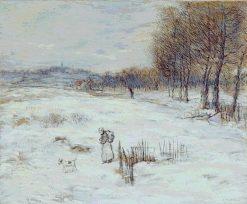Snowy Landscape | Jean Francois Raffaelli | Oil Painting