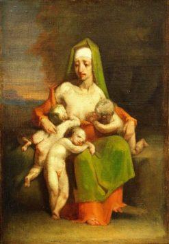 Caritas | Jean Francois Millet | Oil Painting