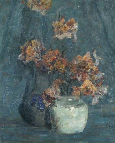 Azalea Mollis | Jan Zandleven | Oil Painting