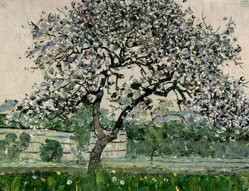 Blossoming Fruit Tree | Jan Zandleven | Oil Painting