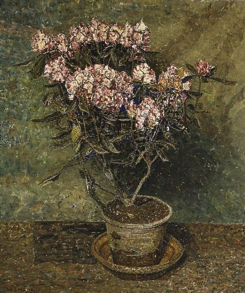 Rhododendron | Jan Zandleven | Oil Painting