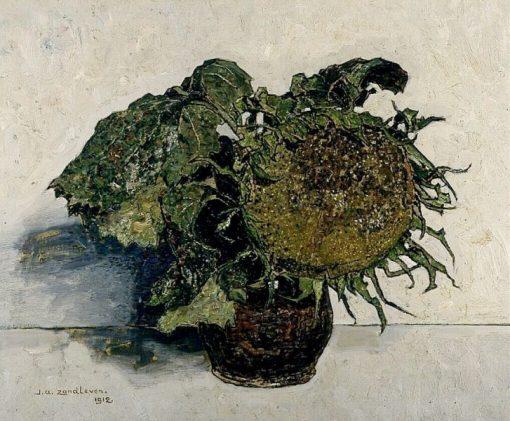Sunflower | Jan Zandleven | Oil Painting