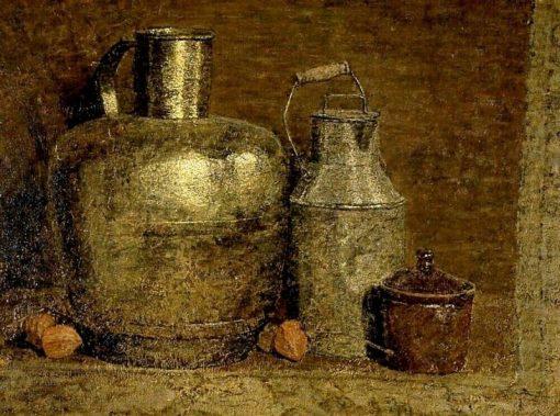 Still Life with Milk Jug   Jan Zandleven   Oil Painting