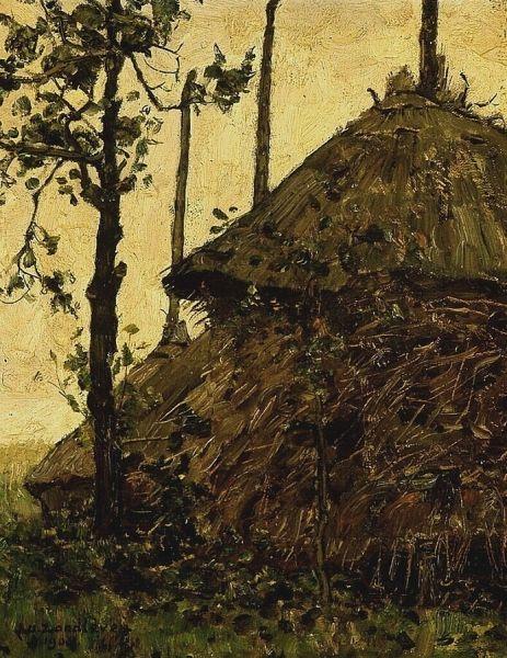 Haystack | Jan Zandleven | Oil Painting