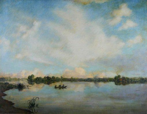 River Scene near Hattem | Jan Voerman