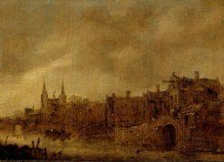 View of Delft | Jan van Goyen | Oil Painting