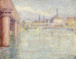 Bridge in London | Jan Toorop | Oil Painting