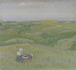 In the Dunes near Domburg | Jan Toorop | Oil Painting