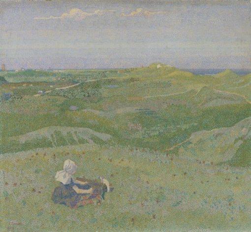 In the Dunes near Domburg | Jan Toorop | Oil Painting