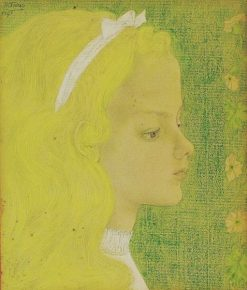 Portrait of a Child | Jan Toorop | Oil Painting