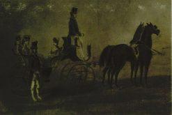 La promenade en voiture | Constantin Guys | Oil Painting