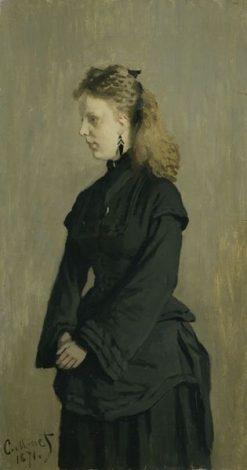 Portrait of Guurtje van de Stadt | Claude Monet | Oil Painting