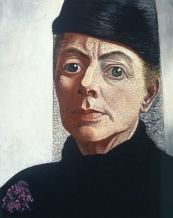 Self-Portrait(also known as Self-Portrait with Hat and Violet) | Charley Toorop | Oil Painting