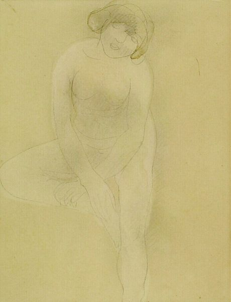 The Bather | Auguste Rodin | Oil Painting