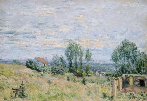 The Brickfield | Alfred Sisley | Oil Painting