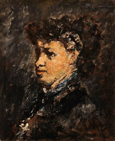 Portrait of a Woman | Adolphe Joseph Thomas Monticelli | Oil Painting