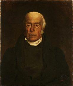Portrait of Monticelli's Grandfather | Adolphe Joseph Thomas Monticelli | Oil Painting