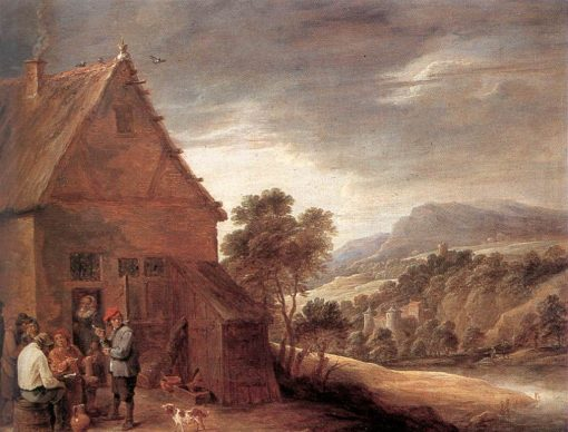 Before the Inn | David Teniers II | Oil Painting