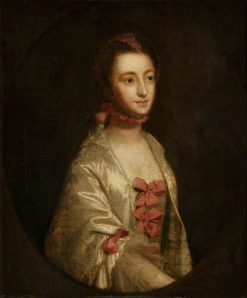Portrait of a Young Woman | Sir Joshua Reynolds | Oil Painting