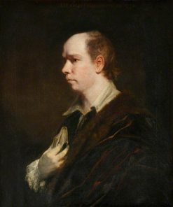 Oliver Goldsmith | Sir Joshua Reynolds | Oil Painting