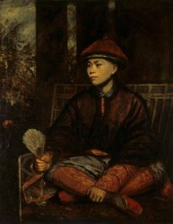 Huang Ya Dong ('Wang-Y-Tong') | Sir Joshua Reynolds | Oil Painting
