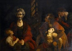 Count Ugolino and His Children in the Dungeon | Sir Joshua Reynolds | Oil Painting