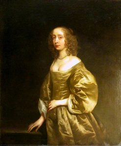 Portrait of Mrs Sackville | Peter Lely | Oil Painting