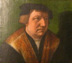 Portrait of an Unknown Man | Bartholomaeus Bruyn the Elder | Oil Painting