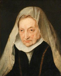 Portrait of Sofonisba Anguissola | Anthony van Dyck | Oil Painting