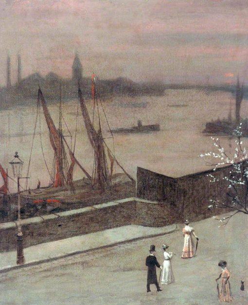 River Scene | Walter Greaves | Oil Painting