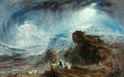 Joshua Commanding the Sun to Stand Still | John Martin | Oil Painting