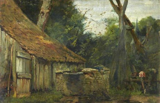 The Mill | Matthijs Maris | Oil Painting