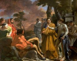 The Judgement of Midas | Sebastien Bourdon | Oil Painting