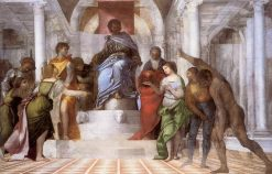 The Judgement of Solomon (unfinished) | Sebastiano del Piombo | Oil Painting
