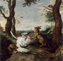 Wolves Devouring a Horse | Frans Snyders | Oil Painting