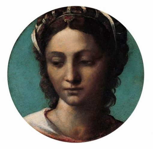 Head of a Woman | Sebastiano del Piombo | Oil Painting