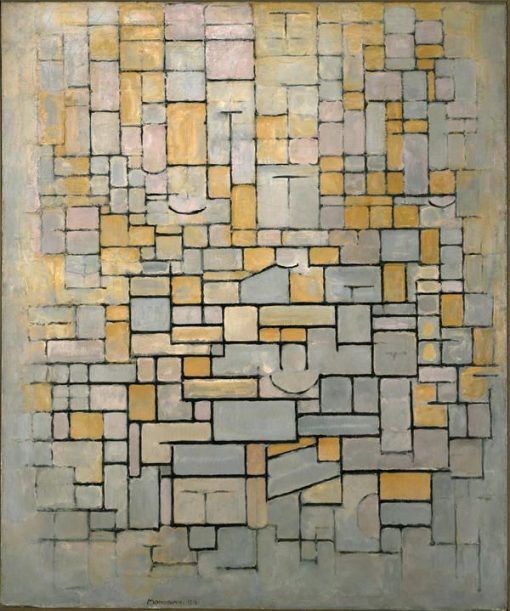 Composition | Piet Mondriaan | Oil Painting