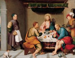 The Supper at Emmaus   Jacopo Bassano   Oil Painting