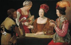 The Cheat with the Ace of Clubs | Georges de La Tour | Oil Painting
