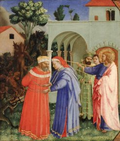 The Apostle Saint James the Greater Freeing the Magical Hermogenes | Fra Angelico | Oil Painting