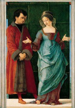 Portia and Brutus | Ercole de' Roberti | Oil Painting