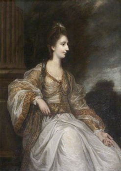 Lady Christian Henrietta Caroline 'Harriet' Acland   Sir Joshua Reynolds   Oil Painting