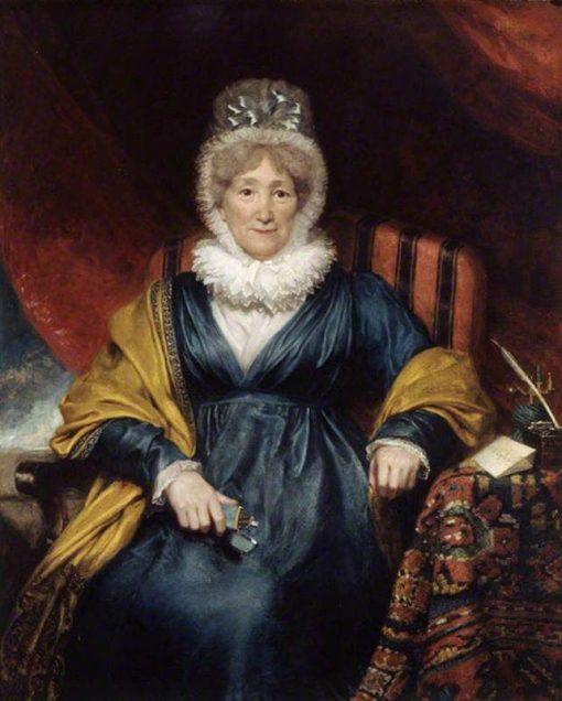 Hannah More (1745-1833) | Henry William Pickersgill | Oil Painting
